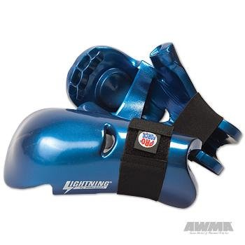 Pro Force Lightning Punches Karate Sparring Gloves - Blue - Child Large (Gear Karate Sparring)