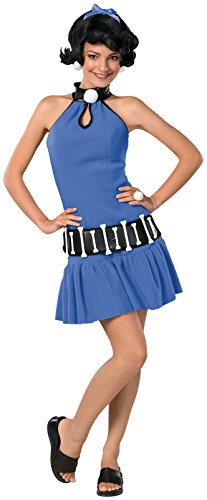 Rubie's Women's The Flintstone's Betty Rubble Teen Costume, Multi, One Size
