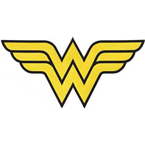 "DC+Comics Products : DC Comics Wonder Woman Logo 12"" Large Back Patch Jackets Can Be Ironed Or Sewn On Officially Licensed DC Products"