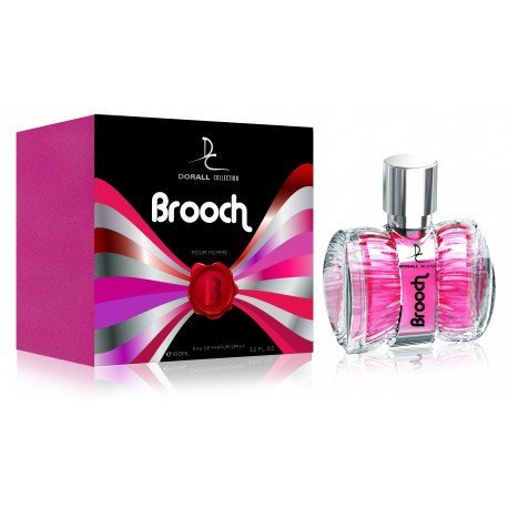 BROOCH BY DORALL COLLECTION PERFUME FOR WOMEN 3.3 OZ / 100 ML EAU DE PARFUM SPRAY ()