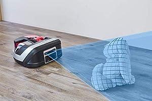 Rowenta Smart Force Cyclonic RR8043 - Robot Aspirador ciclónico Alto Rendimiento en Todo Tipo de Suelos con navegación Inteligente, cámara láser, Cepillo motorizado y conectividad para Smartphones: Amazon.es: Hogar