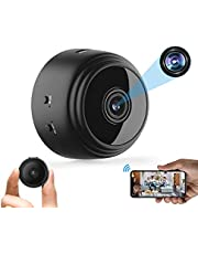Mini Spy Camera with Audio,1080P HD Smart Home Camera with Night Vision,with Cell Phone Wireless WiFi Camera,for Home/Office/Car