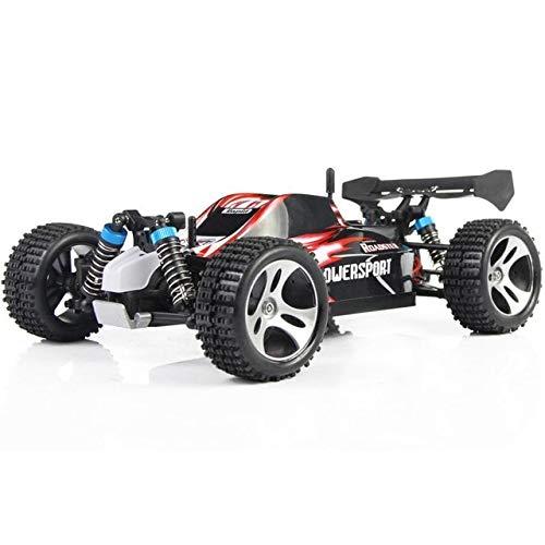 XuBa RC Mini Auto A959 2,4 G 1 18 Maßstab Fernsteuerung Off-Road Racing Auto SUV Spielzeug Geschenk für Jungen rot Blau