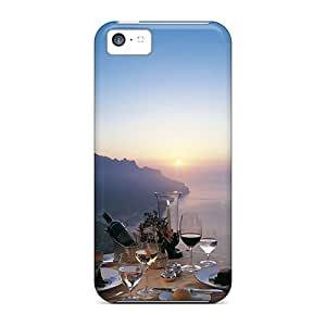 Premium Romantic Dinner For Two Holiday Covers Skin For Iphone 5c