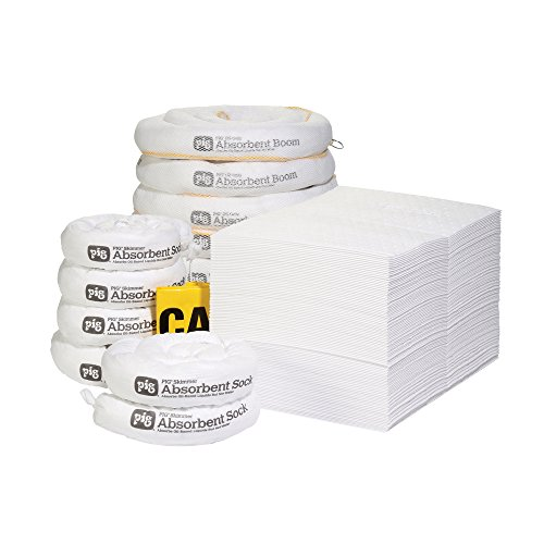 New Pig RFL434 123 Piece Oil-Only Spill Kit Refill in Sto...