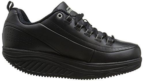 Skechers for Work Women's Maisto Elon Oxford, Black, 8 M US