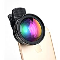 HD Cell Phone Camera Lens 0.45X Wide Angle and 15X Macro Lense Accessories Kit - Expand Your Field of View By 50 percent, Capture Unrivaled Detail - ProPix Fits iPhone / iPad and Most Smartphones