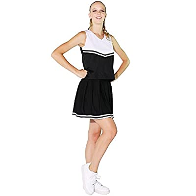 Danzcue Womens Knit Pleat Cheerlearding Uniform Skirt at Women's Clothing store