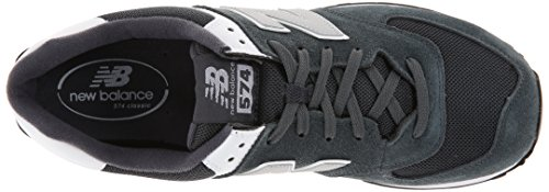 888546369214 - New Balance Men's ML574 Picnic Pack Collection Classic Running Shoe, Dark Grey/Silver, 7 D US carousel main 7