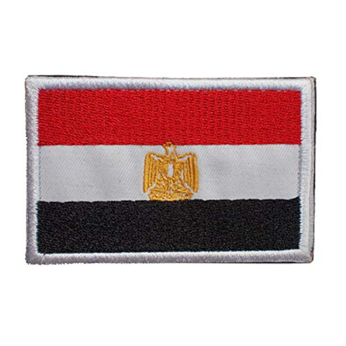 Egypt Flag Patch Embroidered Military Tactical Morale Patches (Egypt)