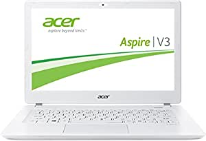"Acer Aspire V3-371-36M2 - Portátil de 13.3"" (Intel core i3, 4 GB de RAM, 500 GB, Intel HD 4400, Windows 8), blanco"