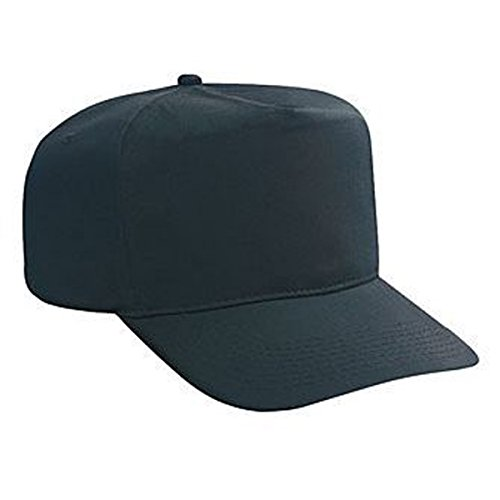 OTTO Cotton Twill High Crown Golf Style Caps (Panel Cap Cotton Golf Twill)