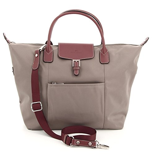 taille cm 32 Hexagona Sac courtes cabas Taupe 172477a anses w41CH