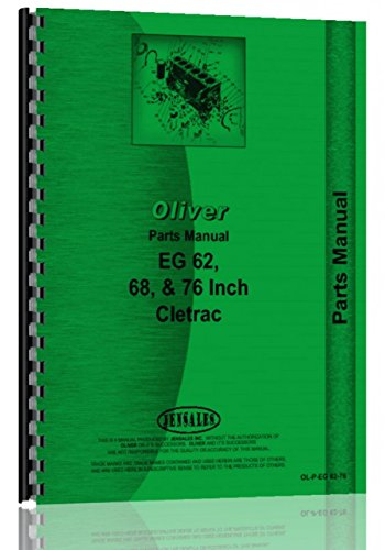 Oliver Cletrac Crawler Parts Manual (OL-P-EG 62-76)