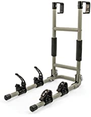 Camco Clamp-N-Carry Lockable Chair and Bike Rack