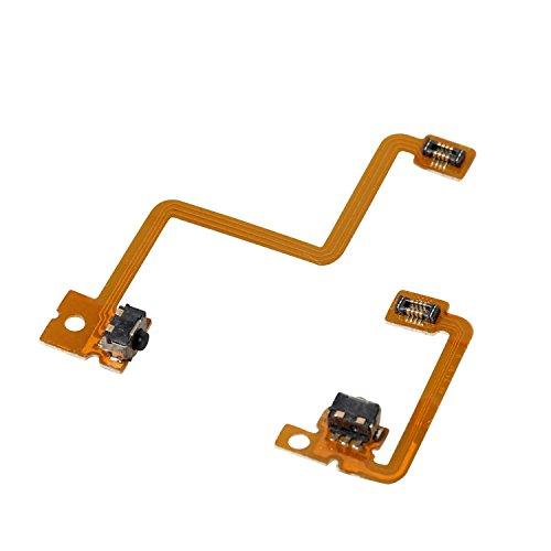 eJiasu L / R Switch Shoulder Trigger Button Reparación de reemplazo Cable de cinta interna Flex para Nintendo 3DS Controller...