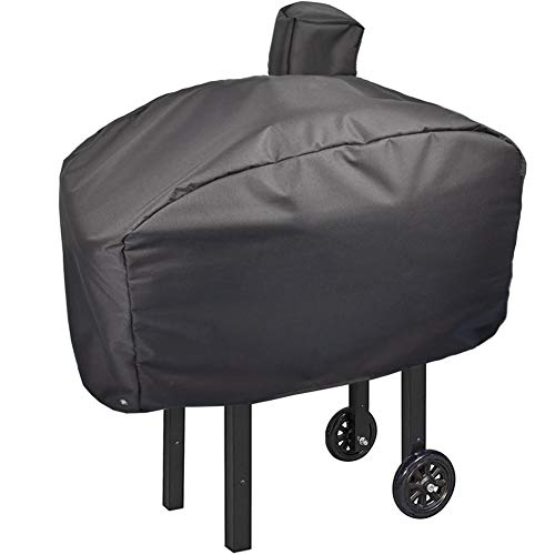 Mini Lustrous Cover for Camp Chef Grill Models: PG24, PG24LS, PG24S, PG24SE, PG24LTD Grills, Durable Outdoor Waterproof Fade-Resistant All-Weather Grill Cover, Black