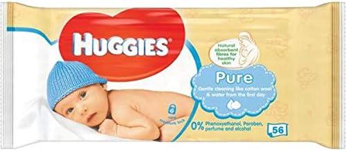 HUGGIES BEBÉS PURE 56
