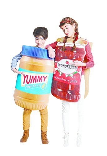 Peanut Butter & Jelly oversized 2 sided Vest Costume age 3 up - adult]()