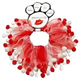 Mirage Pet Products Candy Cane Fuzzy Wuzzy Smoocher, Small