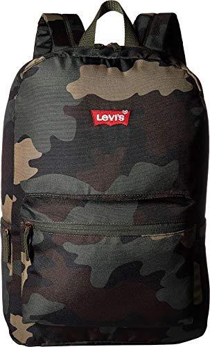 Levi's Kids' Big Classic Logo Backpack, Camo O/S