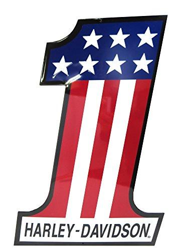 Harley-Davidson® Number One Metal Sign