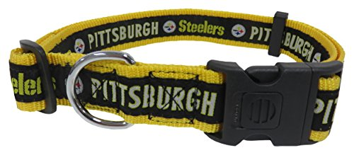 Pets First NFL Pittsburgh Steelers Dog Collar, X-Large
