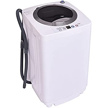 Amazon.com: Giantex Portable Mini Compact Twin Tub 16lbs Washing ...