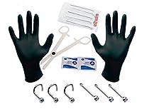 Nose Piercing Kit Body Piercing Needles 18G or 20G Gauge Pack of 15