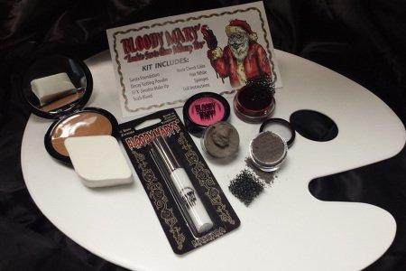 Zombie Facepaint (Bobbie Weiner Ent ZSCL Zombie Santa Claus Makeup Kit)