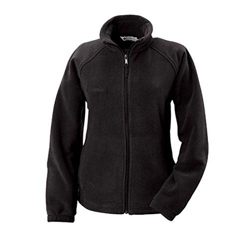 Columbia Women's Benton Springs Full Zip Fleece Jacket (Small, Black)