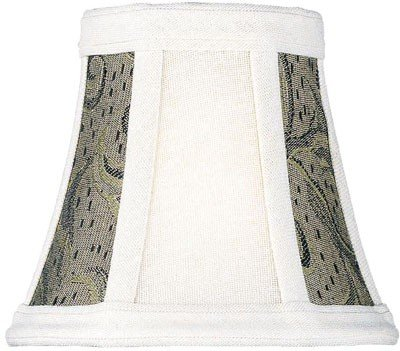 Light 4 Chandelier Wheat (Lite Source CH575-5 Lamp Shade and Two Tone, 5