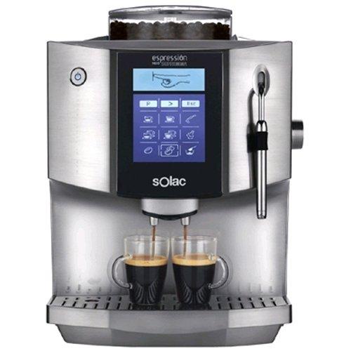 Solac CA4817, LCD, Plata - Máquina de café: Amazon.es: Hogar