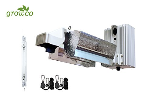 Grow Co. 1000W Pro Series Controller Compatible Open DE System w/ 1000W DE HPS Lamp by Grow Co.