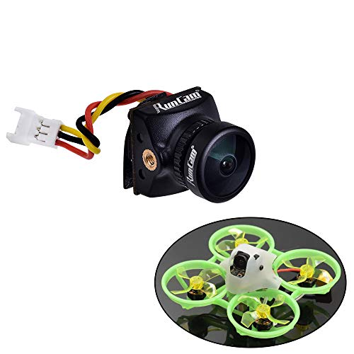 Crazepony RunCam Nano2 FPV Camera 700TVL 1.8mm FOV170 Degree CMOS NTSC Mini FPV Camera for Skystars Tiny Frog and Twig 115mm Nano2 Version FPV Racing Drone Quadcopter