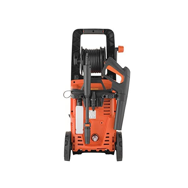 Black+Decker BXPW2200PE Idropulitrice ad Alta Pressione con Patio Cleaner Deluxe e Spazzola Fissa (2200 W, 150 bar, 440 l/h) 3 spesavip