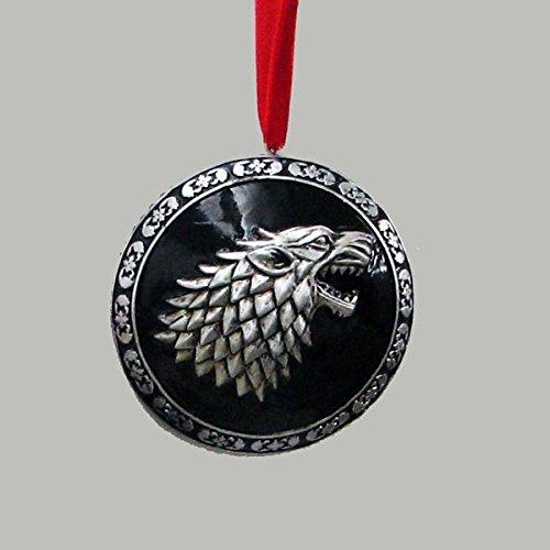 Game of Thrones House Stark Resin Disc Ornament