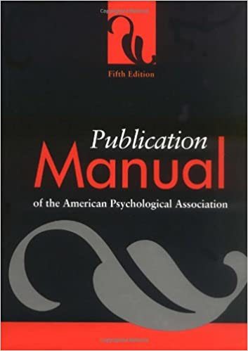 Publication manual of the american psychological association publication manual of the american psychological association subsequent edition fandeluxe Images
