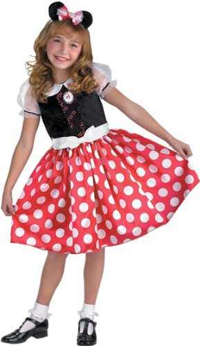 Minnie Mouse Classic Costume - (Classic Red Minnie Mouse Party Supplies)
