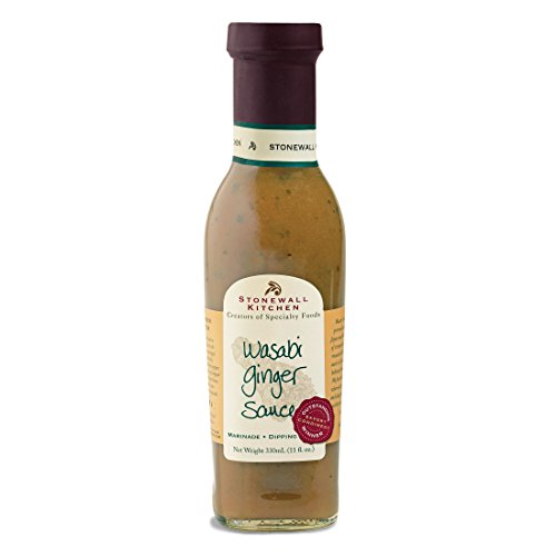 Stonewall Kitchen Wasabi Ginger Grille Sauce, 11 Ounces made in New England