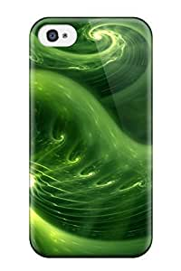 Hot Design Premium VhGmXtI6801hjVNr Tpu Case Cover Iphone 5C Protection Case(abstract Green )