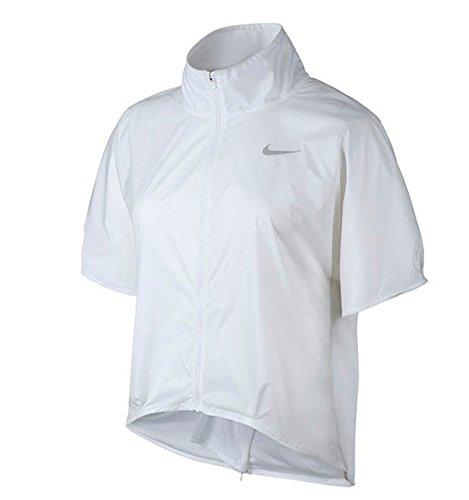 ナイキ トランスペアレント ウィメンズ ショートスリーブ ゴルフジャケット S