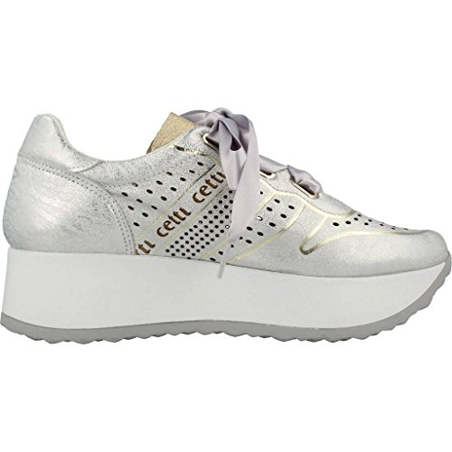 Sports Shoes Shoes Silver Women039;s Silver Sports Colour Model Silver Cetti Brand V18 Women039;s C1073 a5qW1Z