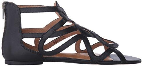 Corso Como Femme Robe Surrey Sandale Cuir Noir Brossé