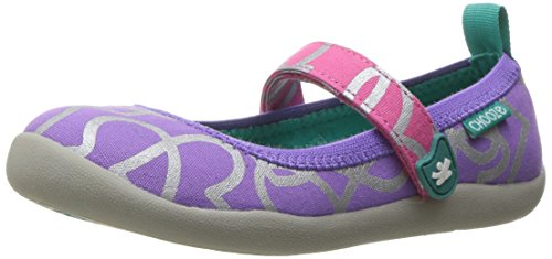 CHOOZE Kids' Jump Mary Jane Flat - Scatter - 8 M US Toddler