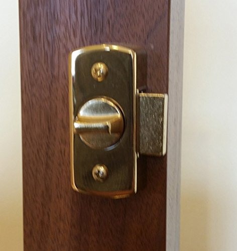 Keyed Storm Door Deadbolt -GREEN - 1-1/4 Inch Door by Home Products N' More (Image #2)