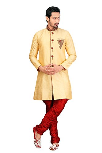 Indian Sherwani For Men Readymade Designer Partywear For Wedding Exclusive Fashion Dress by daindiashop-USA