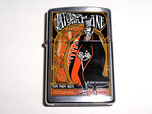 Jefferson Ball - Zippo by Artists Mouse and Kelly Jefferson Airplane Edwardian Ball Lighter