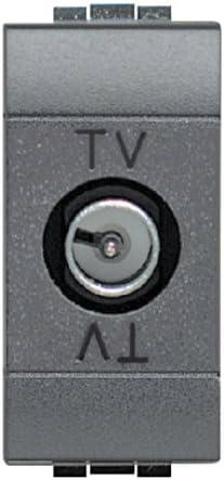 BTicino - L4202D - Línea Salón - Base de toma antena TV-SAT ...