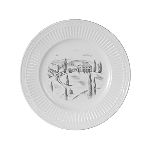 Mikasa Italian Countryside Country Villa Accent Plate, 8.5-Inch